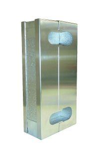 Isolierung-Polyurethan für Plattenwärmetauscher Daprà gelötet