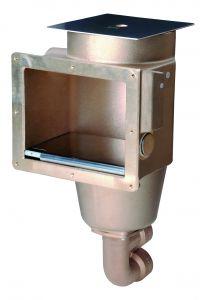 Oberflächenabsauger, Einbautiefe 240 mm Deckel aus 1252020