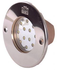 Power-LED Scheinwerfereinsatz mit Platine 12 x 3W; 12 V DC