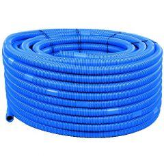 Schlauch Ø 38, blau,  -  Zuschnitt pro m 5005261