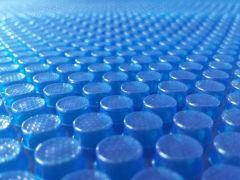 Solarfolie blau 400my Ovalformbecken