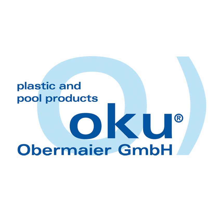 Ecktreppe Ravenna, weiß / blaue Stufen 501340206