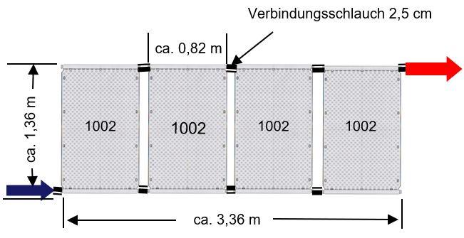 Bemaßung OKU Solarabsorber 1002